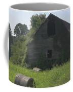 Old Barn And Hay Bales 3 Coffee Mug