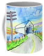 Old Covered Bridge - Avonport N.s. Coffee Mug