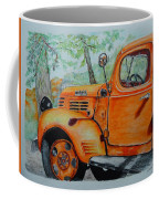 Old Dodge Truck At Patterson Farms Coffee Mug