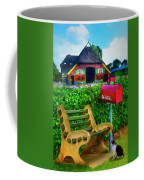 Old Dutch Cottage Painting Coffee Mug
