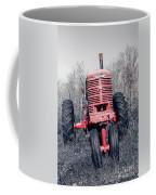 Old Farmall Farm Tractor Color Separation Nh Coffee Mug