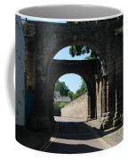 old historic town gate in Hexham Coffee Mug