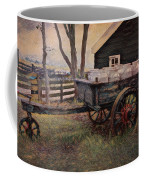 Old Milk Wagon Coffee Mug