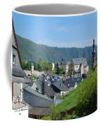 old town walls and church and buildings of Cochem Coffee Mug
