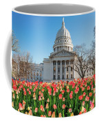 On A Bed Of Tulips Coffee Mug