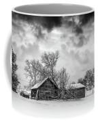 On A Winter Day Monochrome Coffee Mug