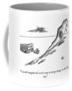 On His Way To Stomp Things Coffee Mug