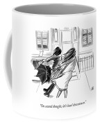 On Second Thought Coffee Mug
