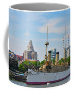 On The Waterfront - The Monitor - Philadelphia Coffee Mug