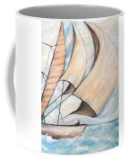 On The Wings Of A Dove Coffee Mug
