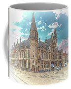 One Last Work Of Ghent Coffee Mug by Leigh Kemp