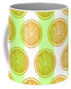 Orange Slice Pattern 2 - Tropical Pattern - Tropical Print - Lemon - Orange - Fruit - Tangerine Coffee Mug