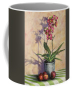 Orchids And Plums Coffee Mug
