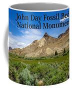 Oregon - John Day Fossil Beds National Monument Sheep Rock 1 Coffee Mug