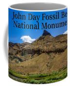 Oregon - John Day Fossil Beds National Monument Sheep Rock 2 Coffee Mug