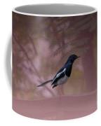 Oriental Magpie-robin With Texture Coffee Mug