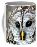Owls Mascot Coffee Mug
