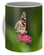 Painted Lady Butterfly At Rest Coffee Mug