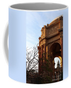 Palace Of Fine Arts At Sunset Coffee Mug