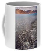 Pangong Tso Coffee Mug by Whitney Goodey