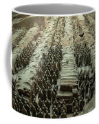 Panorama Of Pit 1, Terra Cotta Warriors Coffee Mug