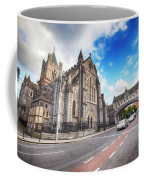 panorama of The Cathedral of Dublin Coffee Mug by Ariadna De Raadt