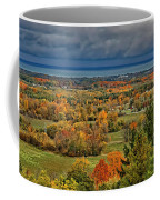 Panoramic Autumn View Coffee Mug