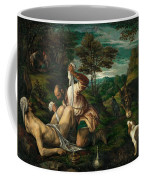 Parable Of The Good Samaritan  Coffee Mug