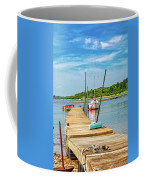 Paradise Sailing Day In Maine Coffee Mug