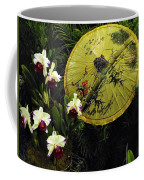Parasol Among The Orchids Coffee Mug