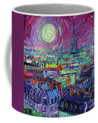 Paris By Moonlight Coffee Mug