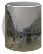 Paris Street Scene  Coffee Mug