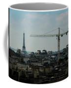 Paris Towers Coffee Mug by Juan Contreras