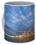 Parliament On The Danube Coffee Mug by Davor Zerjav