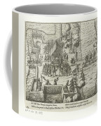 Parma Knighted In The Order Of The Golden Fleece, 1585, Anonymous, After Frans Hogenberg, 1613 - 161 Coffee Mug