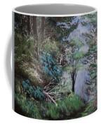 Path Thru The Woods Coffee Mug