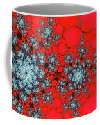 Pattern Synchro Red Coffee Mug by Don Northup