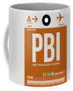 Pbi West Palm Beach Luggage Tag II Coffee Mug