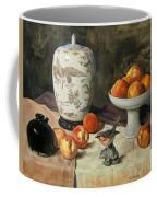 Peach Warbler Coffee Mug