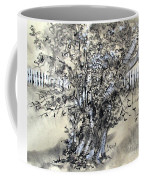 Pear Tree And Pickets Coffee Mug