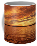 Percy Priest Lake Sunset Coffee Mug by D K Wall