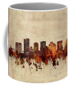 Phoenix Skyline Sepia Coffee Mug