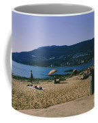 photograph of thid beach which is located in Stanley Park Vancouver. Third beach is a popular location for tourists and locals alike. Coffee Mug