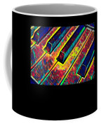 Piano Keys Musican Player Music Notes Gift Color Design Coffee Mug