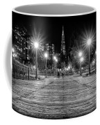 Pier 7 In Black And White Coffee Mug