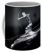 Pierce Arrow Classic Car Emblem Coffee Mug by Michael Hope