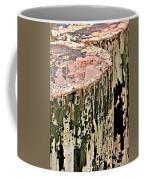 Pilings In Abstract Coffee Mug