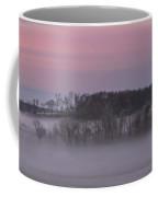 Pink Misty Morning #1 - Winter Fog Coffee Mug by Patti Deters