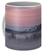 Pink Misty Morning #3 - Misty Field Coffee Mug by Patti Deters