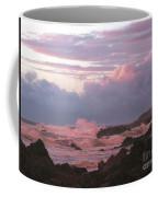 Pink Waves Coffee Mug